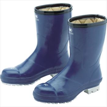 ミドリ安全(株) ミドリ安全 氷上で滑りにくい防寒安全長靴 FBH01 ネイビー 28.0cm [ FBH01NV28.0 ]