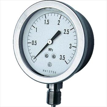 長野計器(株) 長野 グリセン入圧力計 [ GV511335.0MP ]