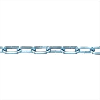 (株)ニッサチェイン ニッサチェイン 鉄ユニクロ溶接リンクチェイン 4.8mm×30m [ IW2048 ]