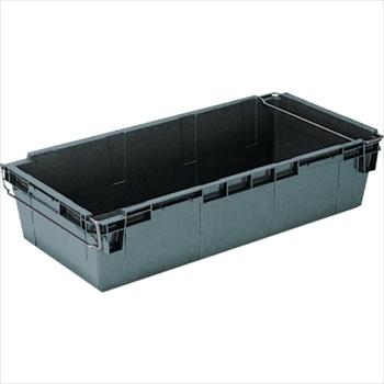 岐阜プラスチック工業(株) リス HB型コンテナーHB-120 グレー [ HB120 ]