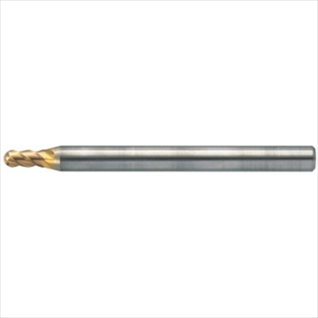 ユニオンツール(株) ユニオンツール 超硬エンドミル ボール R6×刃長18 [ HFB41201800 ]