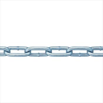 (株)ニッサチェイン ニッサチェイン 鉄ユニクロ溶接リンクチェイン 6.5mmX30M [ IW2065 ]