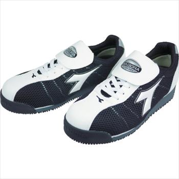 ドンケル(株) ディアドラ DIADORA 安全作業靴 キングフィッシャー 白/黒 25.0cm [ KF12250 ]