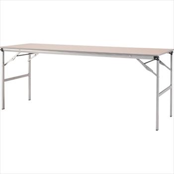 オレンジB アイリスチトセ(株) アイリスチトセ 折畳みテーブルLOT 棚無し1845サイズ ナチュラル [ LOT1845NA ]