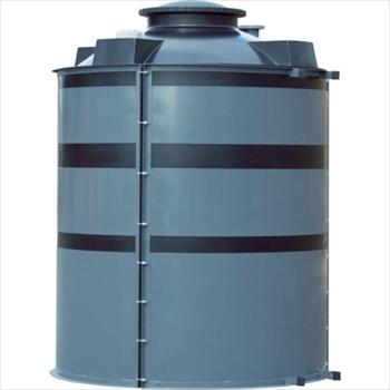 ★直送品・代引不可★スイコー(株) スイコー MC型大型容器8000L オレンジB [ MC8000 ]