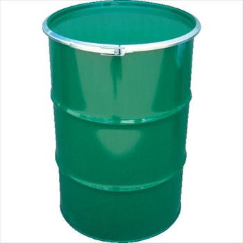 JFEコンテイナー(株) JFE 鋼製ドラム缶 オープンタイプ 外レバー式 100L [ KD100LSTS ]