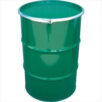 JFEコンテイナー(株) JFE 鋼製ドラム缶 オープンタイプ 外レバー式 200L [ KD200LSTS ]