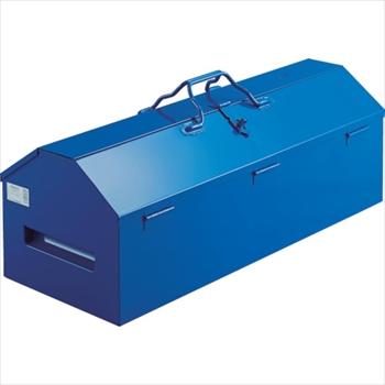 トラスコ中山(株) TRUSCO オレンジブック ジャンボ工具箱 720X280X326 ブルー [ LG700A ]