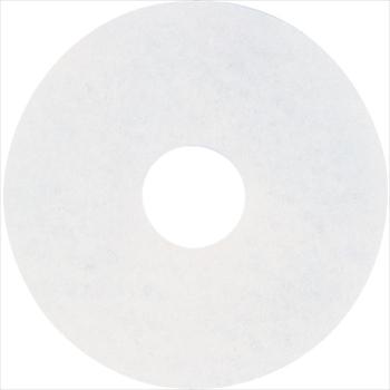 オレンジB アマノ(株) アマノ フロアパッド15 白 [ HEQ911100 ]【 5枚 】