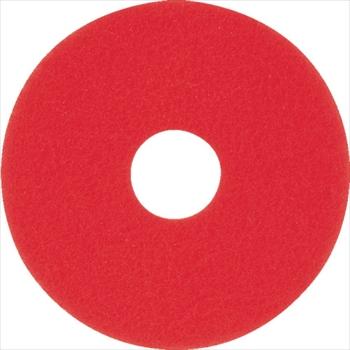 オレンジB アマノ(株) アマノ フロアパッド15 赤 [ HEQ911200 ]【 5枚 】