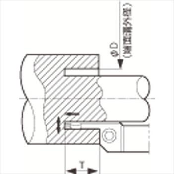 京セラ(株) KYOCERA  溝入れ用ホルダ オレンジB [ KFMSR2525M2358005 ]