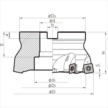 京セラ(株) 京セラ ミーリング用ホルダ [ MFH160R148T ]