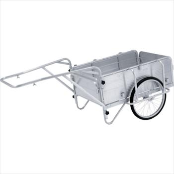 オレンジB アルインコ(株)住宅機器事業部 アルインコ アルミ製折りたたみ式リヤカー [ HKW180 ]