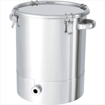 日東金属工業(株) 日東 ステンレスタンク片テーパー型クリップ式密閉容器 150L [ KTTCTH565 ]