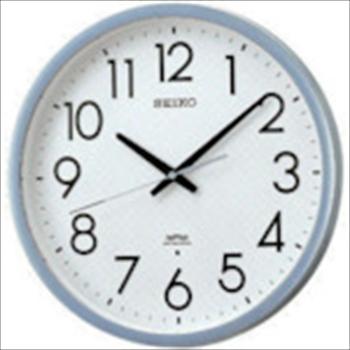 セイコークロック(株) SEIKO 電波掛時計 直径390×52 P枠 銀色半光沢 [ KS265S ]