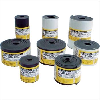 オレンジB (株)イノアックコーポレーション イノアック マイクロセルウレタンPORON 黒5×500×15M巻(テープ無) [ L24550015M ]