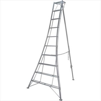 (株)ピカコーポレイション ピカ 三脚脚立GMF型 8尺 オレンジB [ GMF240A ]
