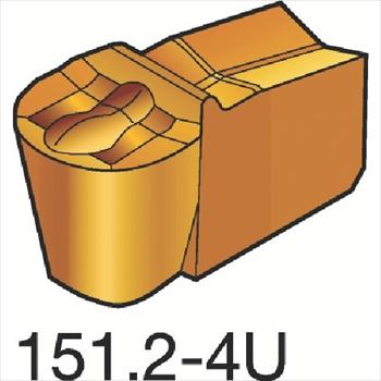 サンドビック(株)コロマントカンパニー SANDVIK サンドビック T-Max Q-カット 突切り・溝入れチップ H13A [ N151.2200204U ]【 10個セット 】