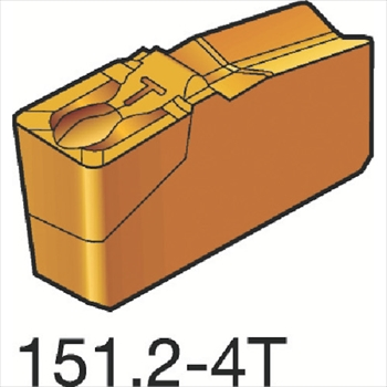 サンドビック(株)コロマントカンパニー SANDVIK サンドビック T-Max Q-カット 突切り・溝入れチップ 4225 [ N151.24004404T ]【 10個セット 】