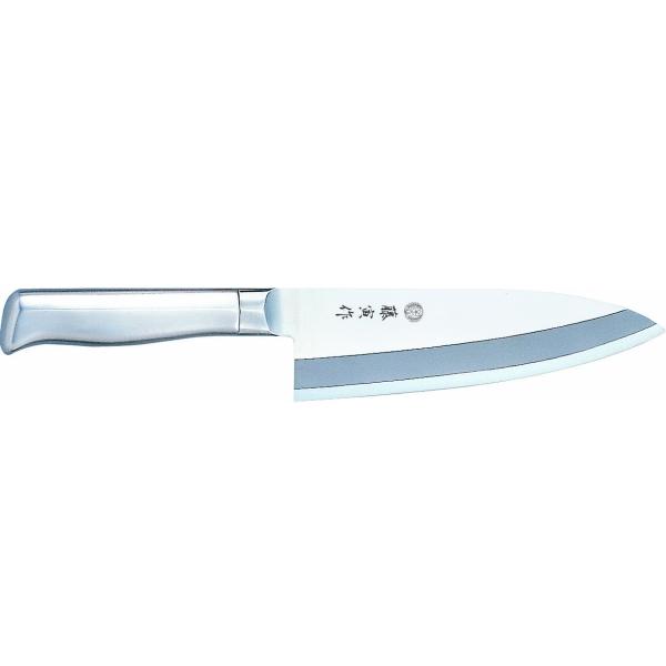 藤寅作 (藤次郎ロゴ違い) DPコバルト合金鋼2層複合 出刃 165mm [包丁] fu-636