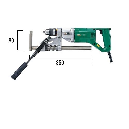 HiKOKI[日立工機] 電子ボーラー汎用タイプD13VE[鉄工13mm]最大把握幅(13mmキリ使用時)【H02】