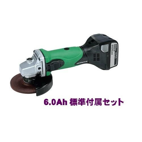 HiKOKI[ 日立工機 (hitachi) ]  14.4V 6.0Ah コードレス ディスクグラインダ G14DSL(LYPK) アグレッシブグリーン