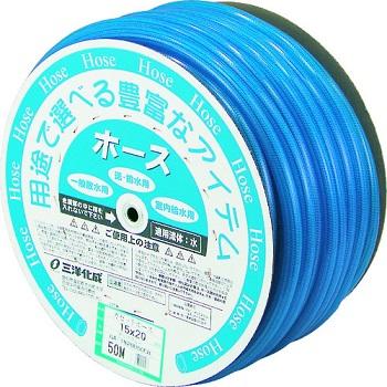 (株)三洋化成 サンヨー ガゼットホース15×20 クリアブルー 50mドラム巻 [ GA1520D50CB ]