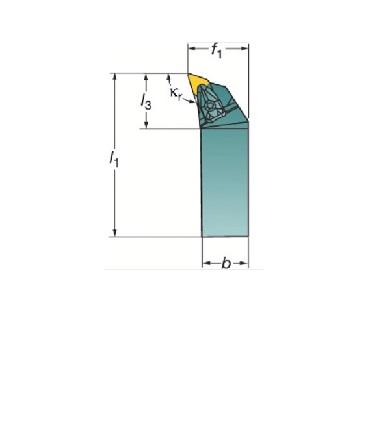 サンドビック(株)コロマントカンパニー SANDVIK サンドビック コロターンRC ネガチップ用シャンクバイト [ DDHNL2525M1504 ]
