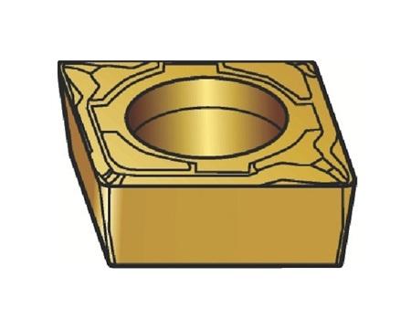 サンドビック(株)コロマントカンパニー SANDVIK サンドビック コロターン107 旋削用ポジ・チップ 1105 [ CCMT09T308MF ]【 10個セット 】