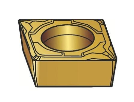 サンドビック(株)コロマントカンパニー SANDVIK サンドビック コロターン107 旋削用ポジ・チップ 1105 [ CCMT09T302MF ]【 10個セット 】
