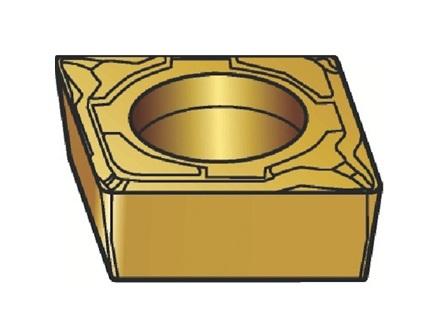 サンドビック(株)コロマントカンパニー SANDVIK サンドビック コロターン107 旋削用ポジ・チップ 1115 [ CCMT09T302MF ]【 10個セット 】