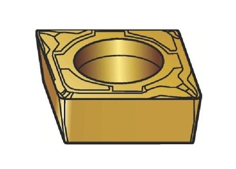 サンドビック(株)コロマントカンパニー SANDVIK サンドビック コロターン107 旋削用ポジ・チップ 1125 [ CCMT09T302MF ]【 10個セット 】