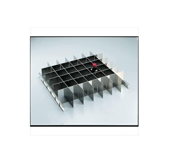 トラスコ中山(株) TRUSCO オレンジブック 耐震薬品庫 SYW型用仕切板セット 500MLビンX42本用 [ SYW500SS ]