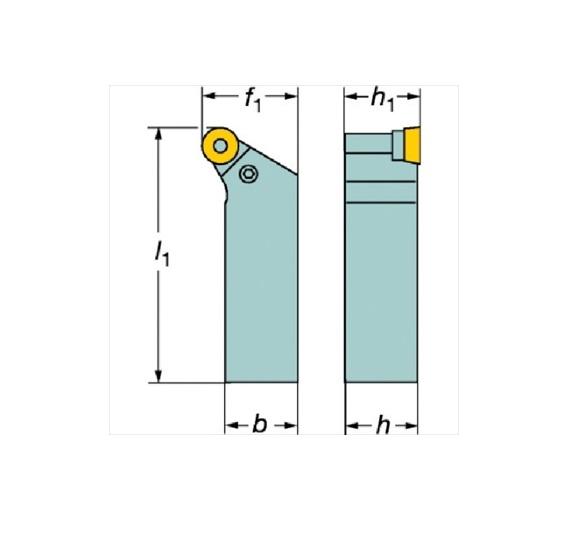 サンドビック(株)コロマントカンパニー SANDVIK サンドビック T-Max P ネガチップ用シャンクバイト [ PRGNR3225P15 ]