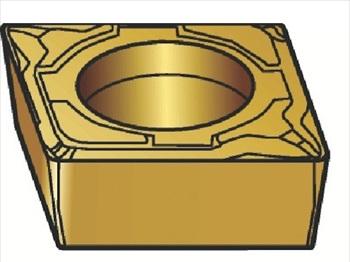 サンドビック(株)コロマントカンパニー SANDVIK サンドビック コロターン107 旋削用ポジ・チップ 1105 [ CCMT09T304MF ]【 10個セット 】