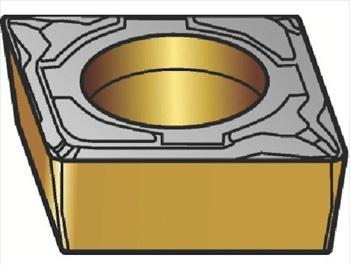 サンドビック(株)コロマントカンパニー SANDVIK サンドビック コロターン107 旋削用ポジ・チップ H13A [ CCMT120404KF ]【 10個セット 】