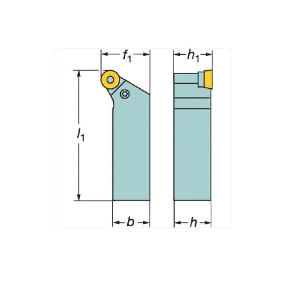 サンドビック(株)コロマントカンパニー SANDVIK サンドビック T-Max P ポジチップ用シャンクバイト [ PRGCR3225P16 ]