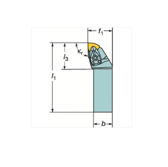 サンドビック(株)コロマントカンパニー SANDVIK サンドビック コロターンRC ネガチップ用シャンクバイト [ DWLNL2525M08 ]
