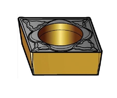サンドビック(株)コロマントカンパニー SANDVIK サンドビック コロターン107 旋削用ポジ・チップ 5015 [ CCMT120408PM ]【 10個セット 】