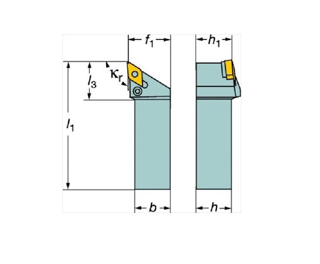 サンドビック(株)コロマントカンパニー SANDVIK サンドビック T-Max P ネガチップ用シャンクバイト [ L171.35402515 ]