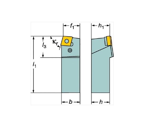 サンドビック(株)コロマントカンパニー SANDVIK サンドビック T-Max P ネガチップ用シャンクバイト [ PCBNR4040S19 ]
