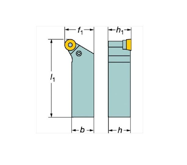 サンドビック(株)コロマントカンパニー SANDVIK サンドビック T-Max P ポジチップ用シャンクバイト [ PRGCL3225P16 ]