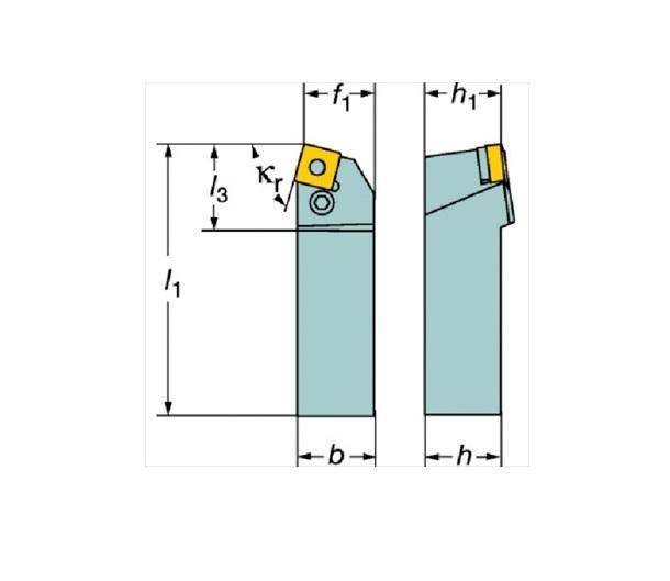 サンドビック(株)コロマントカンパニー SANDVIK サンドビック T-Max P ネガチップ用シャンクバイト [ PSBNL4040S19 ]