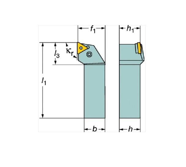 サンドビック(株)コロマントカンパニー SANDVIK サンドビック T-Max P ネガチップ用シャンクバイト [ PTGNL2525M22 ]