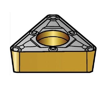サンドビック(株)コロマントカンパニー SANDVIK サンドビック コロターン107 旋削用ポジ・チップ 5015 [ TCMX16T304WF ]【 10個セット 】