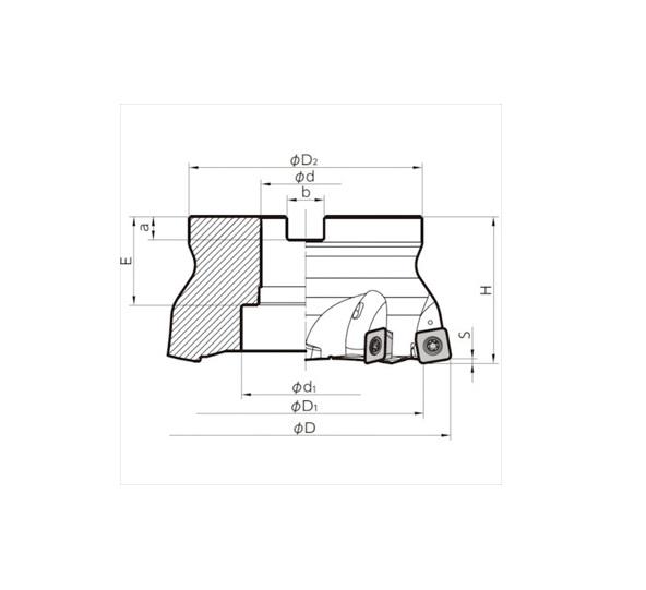 京セラ(株) KYOCERA  ミーリング用ホルダ オレンジB [ MFH125R147T ]