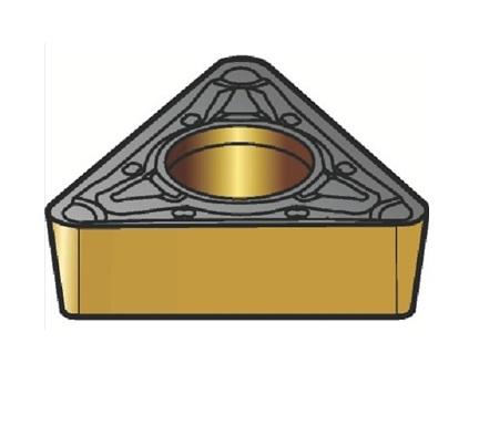 サンドビック(株)コロマントカンパニー SANDVIK サンドビック コロターン107 旋削用ポジ・チップ 3210 [ TCMT16T312KR ]【 10個セット 】