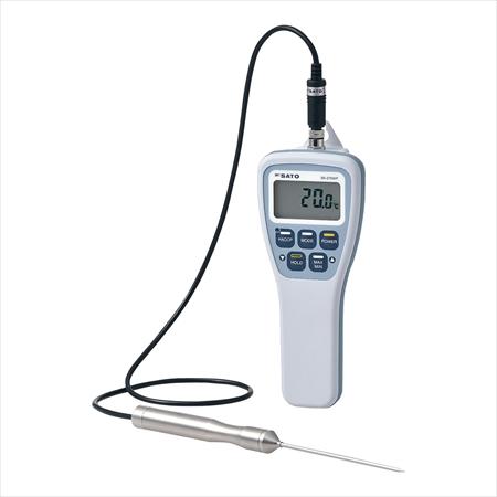 佐藤計量器 防水型食品用温度計 SK-270WP 標準センサS270WP-01付 BOVR901 [7-0578-0101]