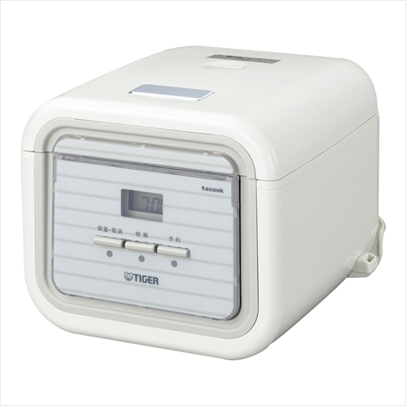 タイガー魔法瓶 タイガー マイコン炊飯ジャー タクック JAJ-A552 WS DSIM901 [7-0650-1001]