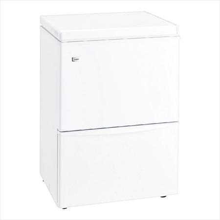 直送品■ ハイアール 2ドア冷凍庫 JF-WND120A(W) ELIH101 [7-0685-0201]